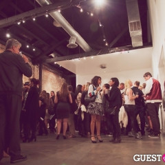 Inside The VIP Reception For Moby's