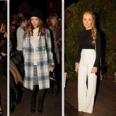 Fashion Week Street Style: Day 5 At The alice + olivia by Stacey Bendet Presentation