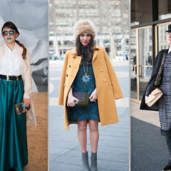Fashion Week Street Style: Day 7 At Lincoln Center