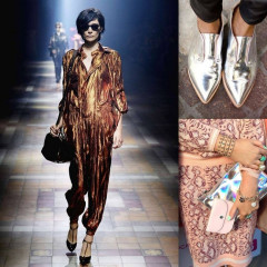 Trend Altert: Our Favorite Metallic Pieces To Buy For Spring
