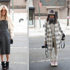 Fashion Week Street Style: Day 4 Outside Of Tracy Reese In Chelsea
