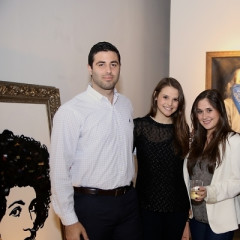 Inside The IvyConnect L.A. Launch At Wall Street Gallery