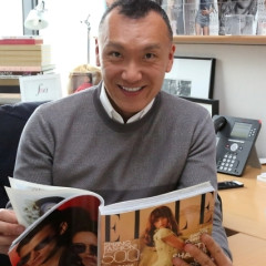 Interview: Elle's Creative Director Joe Zee Dishes On Designing, Red Carpets & Being