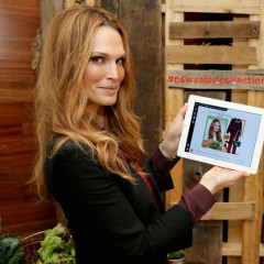 Fashion Meets Food: Molly Sims Partners With Polyvore For New Wendy's Campaign