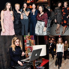 Last Night's Parties: Carolina Herrera & Project Paz Host A Cocktail Party, Felicity Jones & Amy Ryan Hit Hotel Chantelle After The