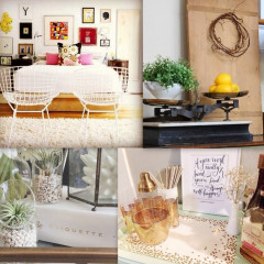 DIY Home Decor: 5 Ways To Change Up Your Space For Spring