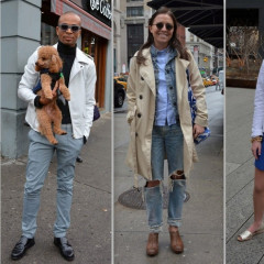 NYC Street Style: Our Favorite Rainy Day Looks