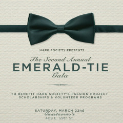 You're Invited: The Hark Society Presents The Second Annual Emerald Gala