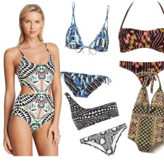 Coachella Style: 12 Tribal Bathing Suits For Festival Season