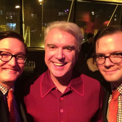 AndrewAndrew's Nightlife Diary: Partying With David Byrne, DJ Kiss & Roxy Cottontail