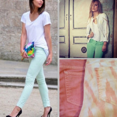 Trend Alert: Brighten Up With 8 Pastel & Printed Jeans