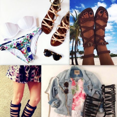 Shoe Trend: 10 Gladiator Sandals That Make A Statement