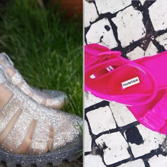 '90s Trend Alert: Jelly Sandals Are Back!