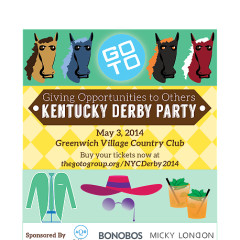 You're Invited: GOTO's Second Annual Kentucky Derby Party
