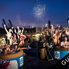 The Coolest Pool Party Ever? Crowdtilt Brings Hot Tub Cinema To Brooklyn