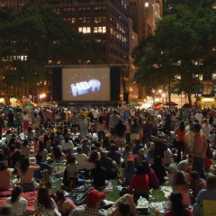 The Best Spots To Catch A Free Outdoor Movie In NYC This Summer