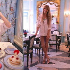 Where She Went & What She Wore: Spring Feast At Laduree Soho