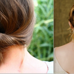 5 Easy & Pretty Updos That Work For Day & Night