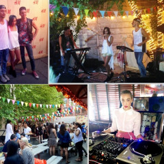 Interview: Catching Up With Zoe Kravitz At Last Night's H&M Summer Camp Event