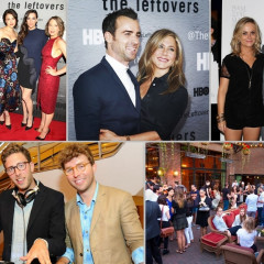 Last Night's Parties: Jennifer Aniston Supports Fiance Justin Theroux At The NYC Premiere Of HBO's