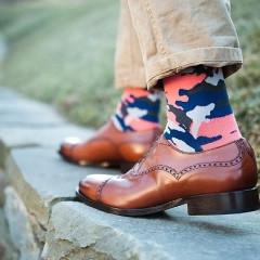Men's Trend Alert: Statement Socks To Up Your Foot Game