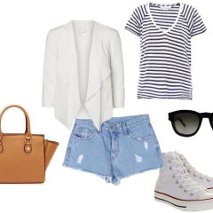 Trend Alert: 8 Cool Ways To Style Your White Converse Sneakers