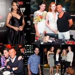 Last Night's Parties: A Pregnant Zoe Saldana Glowed At A Screening Of Marvel's