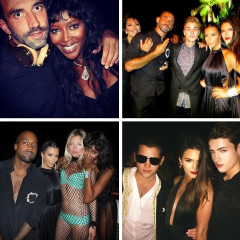 Kim Kardashian, Kate Moss & More Celebrate Riccardo Tisci's 40th Birthday In Ibiza