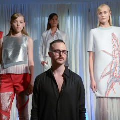 Interview: Designer Daniel Silverstain On His First Season Showing At NYFW & More!