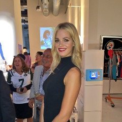 Jordin Sparks & Erin Heatherton Rock Sporty Style At The NFL Hall Of Fashion