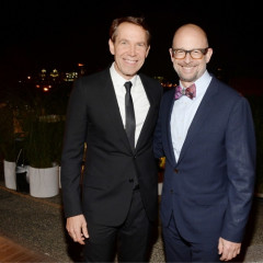 Jeff Koons Joins Tommy Hilfiger At The 2nd Annual High Line Art Dinner
