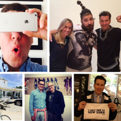 Peter Davis Talks About His Social Media Habits And Surviving Our ABC #SelfieSocialCleanse