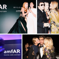 Heidi Klum, Rosario Dawson & Grace Jones Attend The 2014 amfAR Gala In Milan