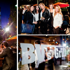 Inside The Opening of BV's Grill