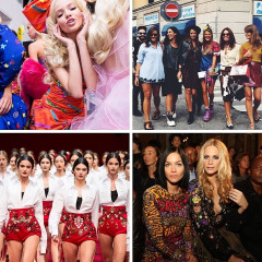 Instagram Round Up: The Best Moments From Milan Fashion Week 2014