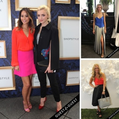 Fashion Week Street Style: Day 2 At Kate Spade & The Marchesa x ShopStyle Collection Preview