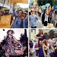 Instagram Round Up: The Best Snaps From The People's Climate March