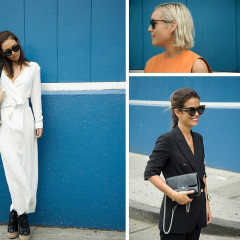 Fashion Week Street Style: Day 5 Outside Of Karen Walker At Pier 59