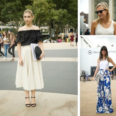 Fashion Week Street Style: Day 7 Outside Of Betsey Johnson At Lincoln Center
