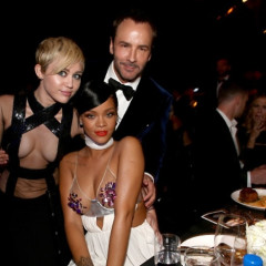 Gwyneth Paltrow, Justin Timberlake & Rihanna Toast To Tom Ford At The 2014 amfAR L.A. Inspiration Gala