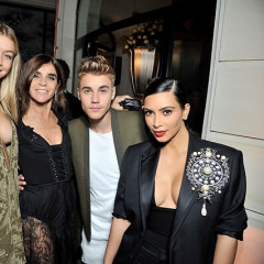 Gigi Hadid, Kim Kardashian & Justin Bieber Celebrate Carine Roitfeld At The CR Fashion Book Launch