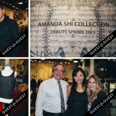 Inside The Amanda Shi Spring 2015 Collection Preview