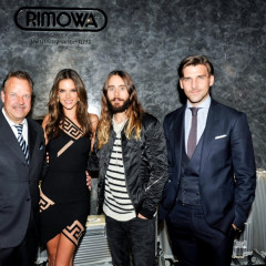 Alessandra Ambrosio & Jared Leto Face A Hair-Raising