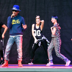 #TBT: Pharrell's Soundcheck at The Hollywood Bowl