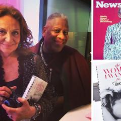 Bloomberg In A Wrap Dress & More At Diane von Furstenberg's