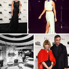 Black & White & Red On Anna: Looks From The 2014 Guggenheim International Dinner