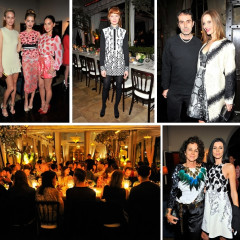 Amber Heard Joins MAC Cosmetics & Vogue In Hosting A Dinner For Giambattista Valli