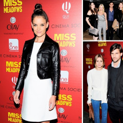 Katie Holmes Attends The Cinema Society's Screening For Her New Film