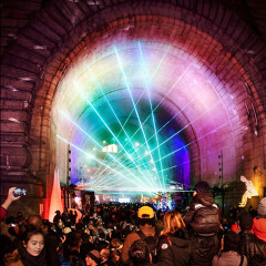 Instagram Round Up: New York Festival Of Lights Turns DUMBO Into A Giant Art Installation