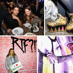 Adrian Grenier, Street Art & Cool Kicks At The React To Film?!? Sneakers Only Party In Brooklyn